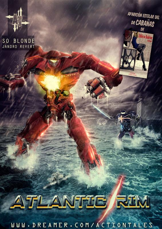 Atlantic Rim de So Blonde, portada de Jandro Revert